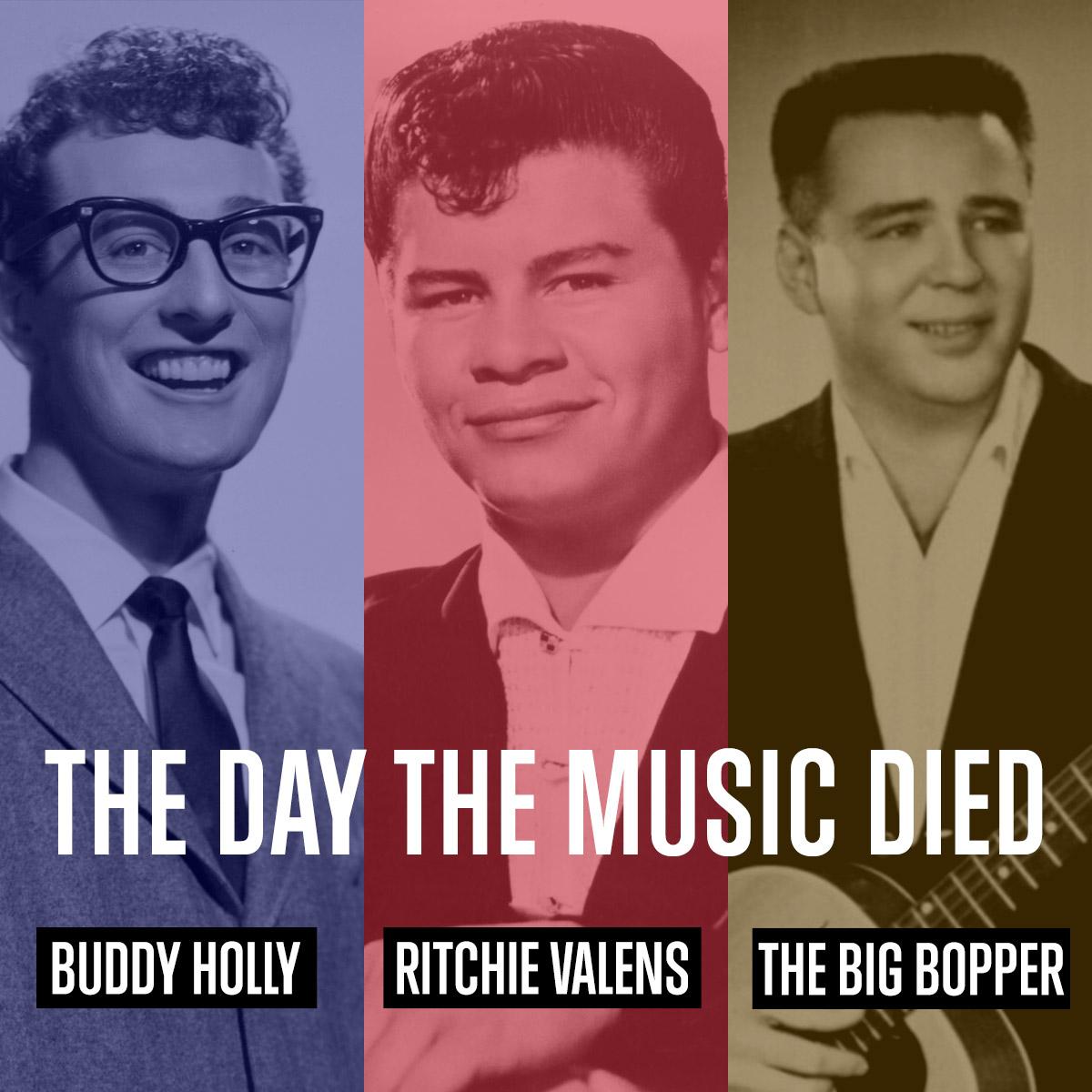 Buddy Holly, Ritchie Valens e The Big Bopper