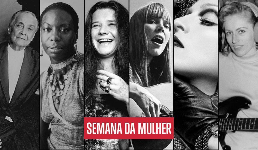Mulheres na música: elas chacoalharam a cena musical